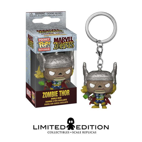 ZOMBIE THOR POCKET POP KEYCHAIN