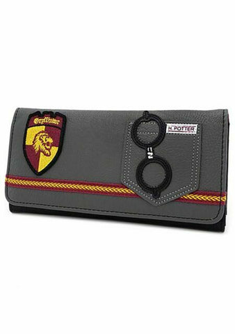 HARRY POTTER GRYFFINDOR GRY TRIFOLD WALLET