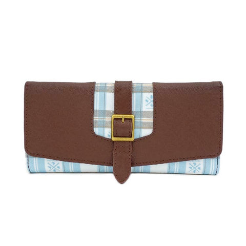 HP HOGWARTS PLAID FLAP WALLET