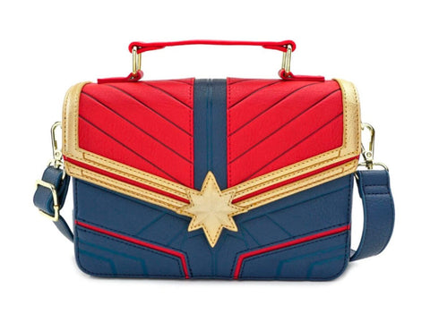 CAPTAIN MARVEL CROSS BODY BAG - Limited Edition Toys Mérida