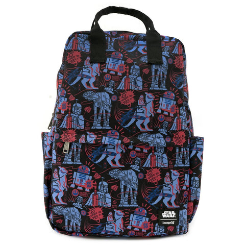 STAR WARS EMPIRE 40TH SQUARE NYLON BACKPACK