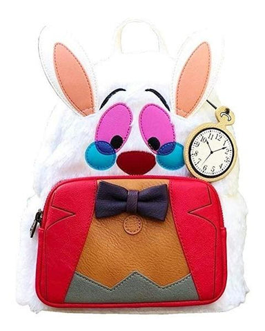 ALICE IN WONDERLAND WHITE RABBIT MINI BACKPACK - Limited Edition Toys Mérida