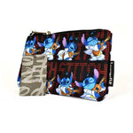 DISNEY LILO AND STITCH STITCH ELVIS AOP NYLON POUCH