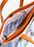 DUMBO STRIPED TOTE BAG WITH CROSSBODY STRAP