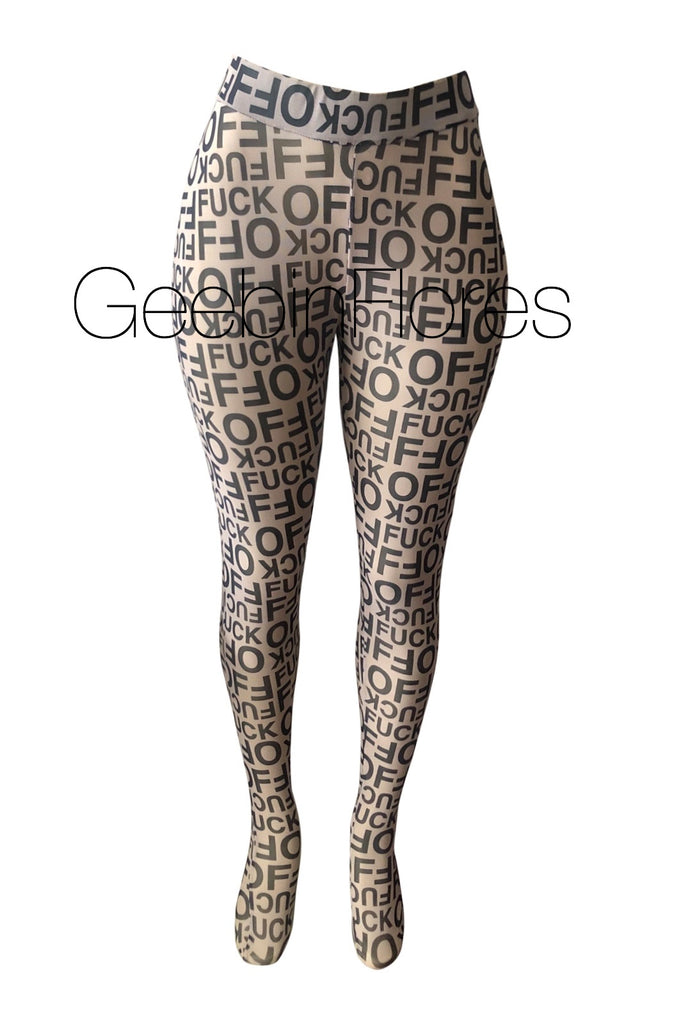 F*ck Off Mesh Tights