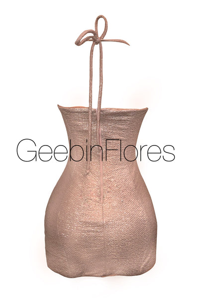 Sheena Shimmer Slip Dress (MADE TO ORDER)