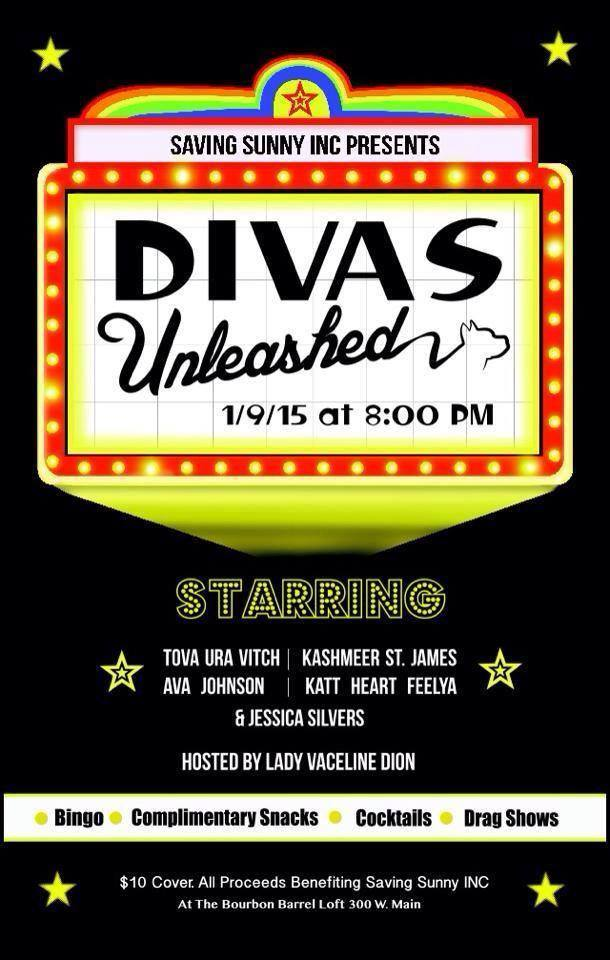 "Saving Sunny, Inc Presents ""Divas Unleashed"" Share Louisville, Kentucky"