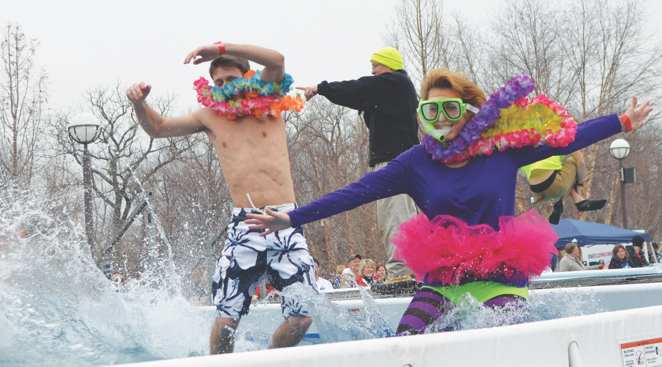 Louisville Polar Plunge benefitting Special Olympics Kentucky