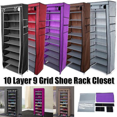 Shoe Rack Shoe Storage Organizer Cabinet Tower