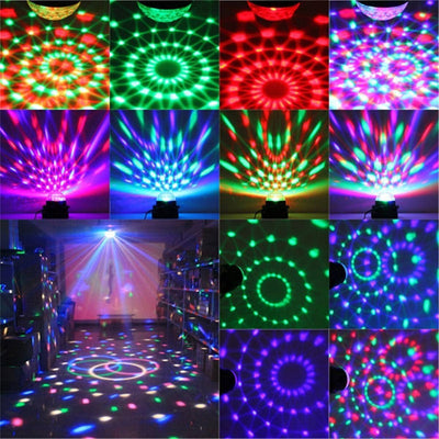 Disco Lights - Laser lights - Sound Activated Party Lights with Remote Control Dj Lighting, RGB Disco Ball, party lights