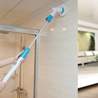 Electric Power Scrubber for Cleaning with Long Handle