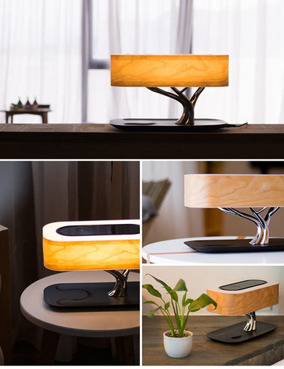 Tree Lamp Wireless Charging and Speaker