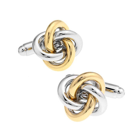 Love Me Knot - Gold Cufflinks