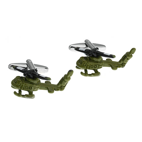 Military Chopper Cufflinks