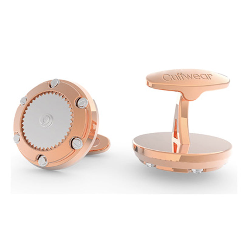 Screwed In Tight - Stainless Steel Rose Gold