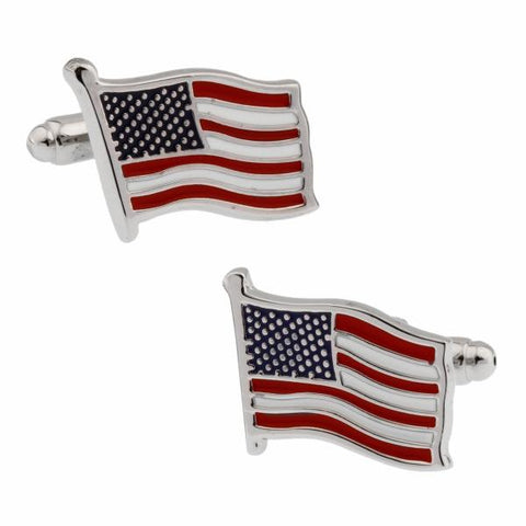 Stars and Stripes Cufflinks