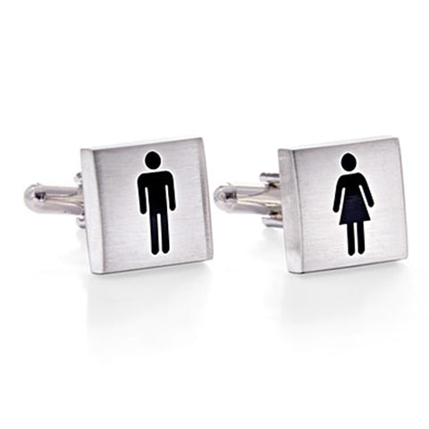 Ladies & Gentlemen Cufflinks