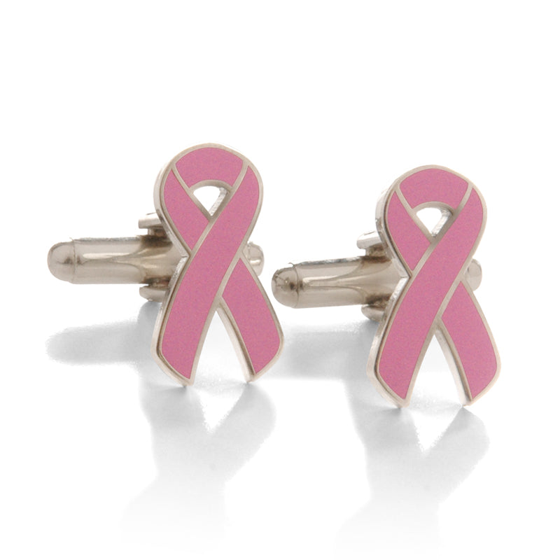 Pink Ribbon Cufflinks
