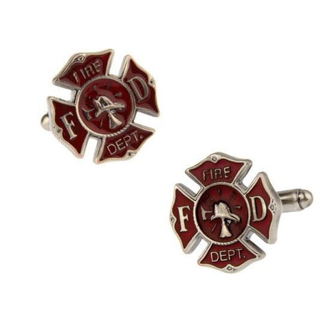 Fire Department Cufflinks