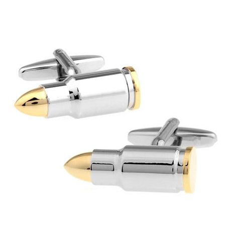 Rifle Bullet Cufflinks