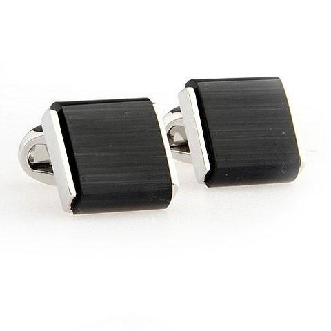 Cat Eye Framed Cufflinks