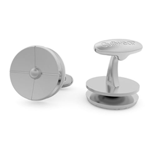 On Target - Stainless Steel Cufflinks