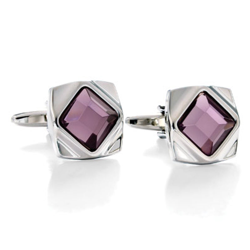 Spy Glass Grape Cufflinks