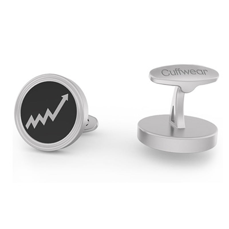 Breakout - Stainless Steel Cufflinks