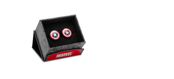 Cufflinks - Captain America Shield Cufflinks