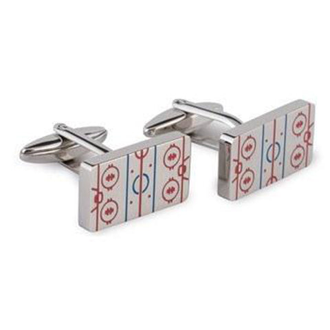 Hockey Rink  Cufflinks