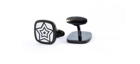 Cufflinks - Rising Star - Black