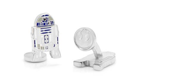 Cufflinks - Star Wars R2D2 Cufflinks