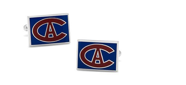 Cufflinks - Vintage Montreal Canadiens Cufflinks