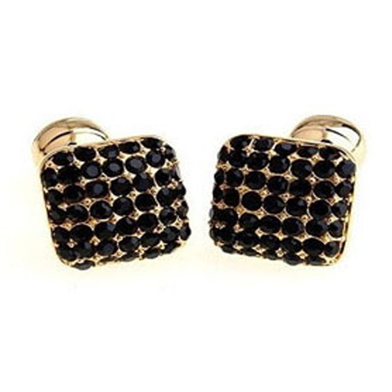 Luxe Link Cufflinks - Gold and Black