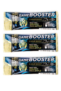 PACK 3 x Monodosis Game Booster Golden MAD Apple CON CAFEÍNA