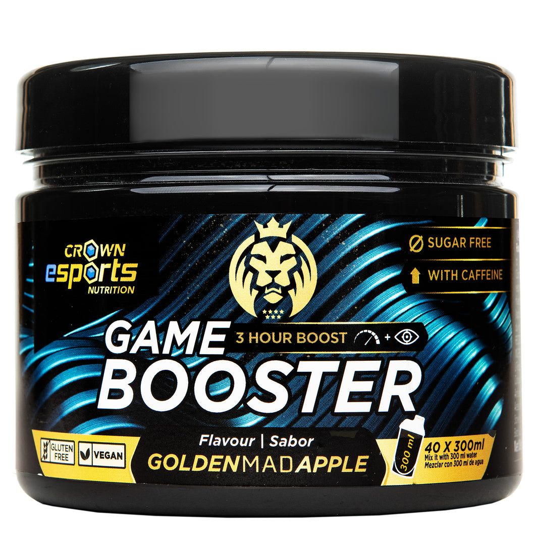 Game Booster Golden MAD Apple CON CAFEÍNA (40 tomas de 300ml)