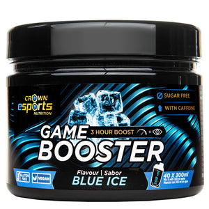 Game Booster Blue Ice CON CAFEÍNA (40 tomas de 300ml)