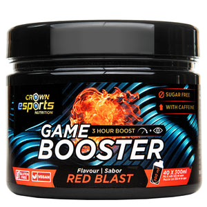 Game Booster Red Blast CON CAFEÍNA (40 tomas de 300ml)