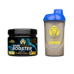 PACK Game Booster + Shaker Mad Lions