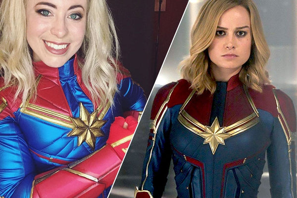 Let me tell you how to cosplay captain marvel Carol Danvers