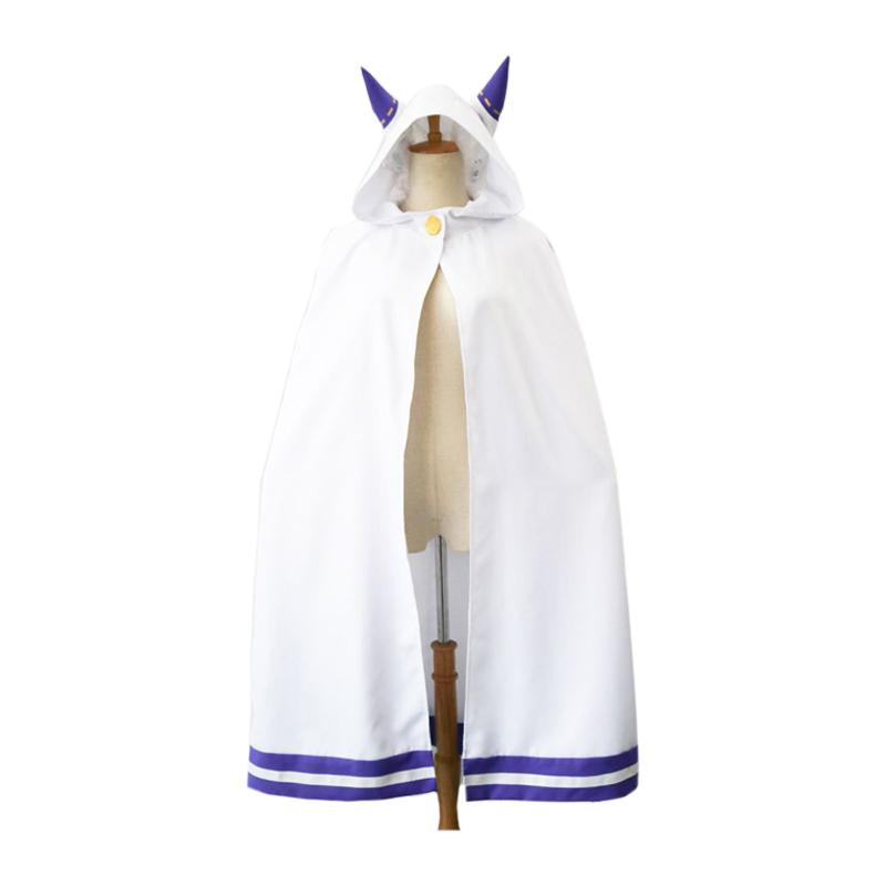Anime Re:Zero Starting Life in Another World Emilia Cloak Cosplay Costume