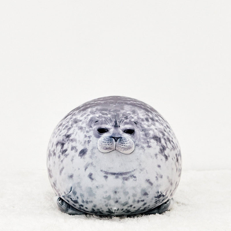 Pillow Soft Round Blob Seal Pillow Hug Plush Pillow Stuffed Cotton Animal Plush Toy