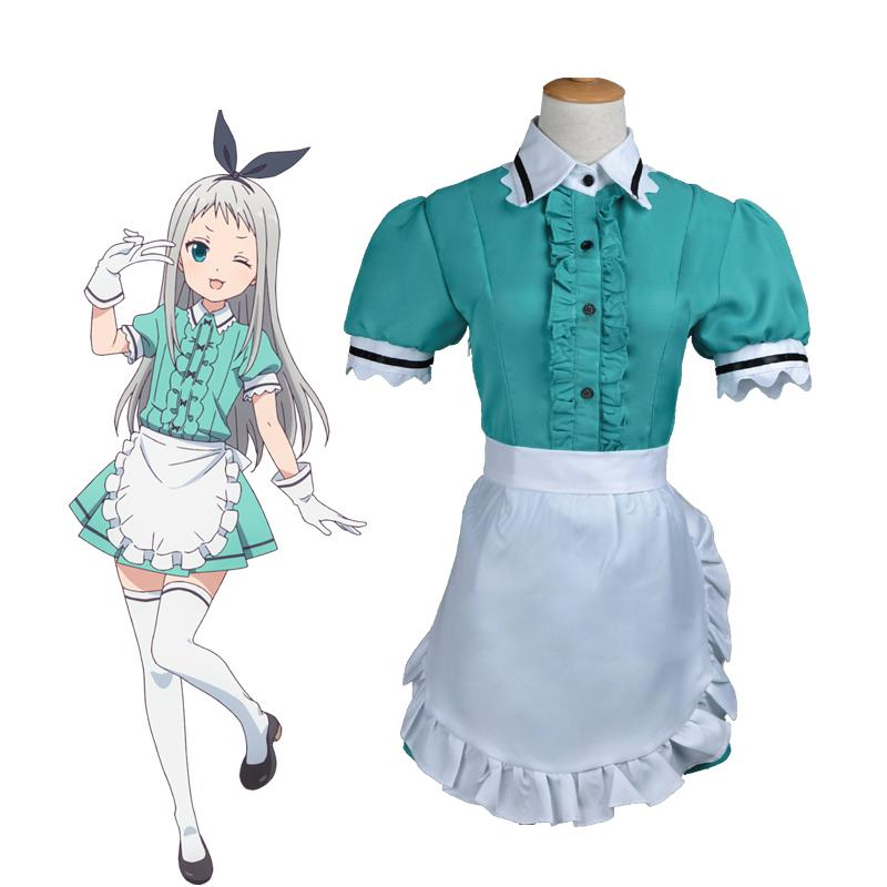 Anime Blend S Hideri Kanzaki Maid Uniform Cosplay Costumes