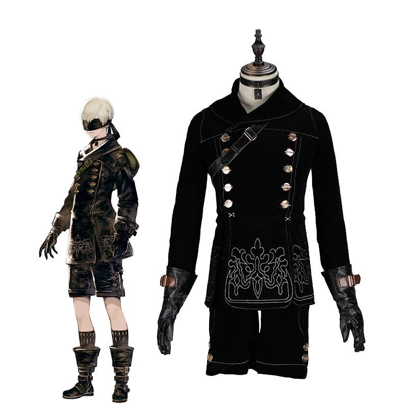 Action Role-Playing Nier: Automata YoRHa No. 9 Type S 9S Cosplay Costumes