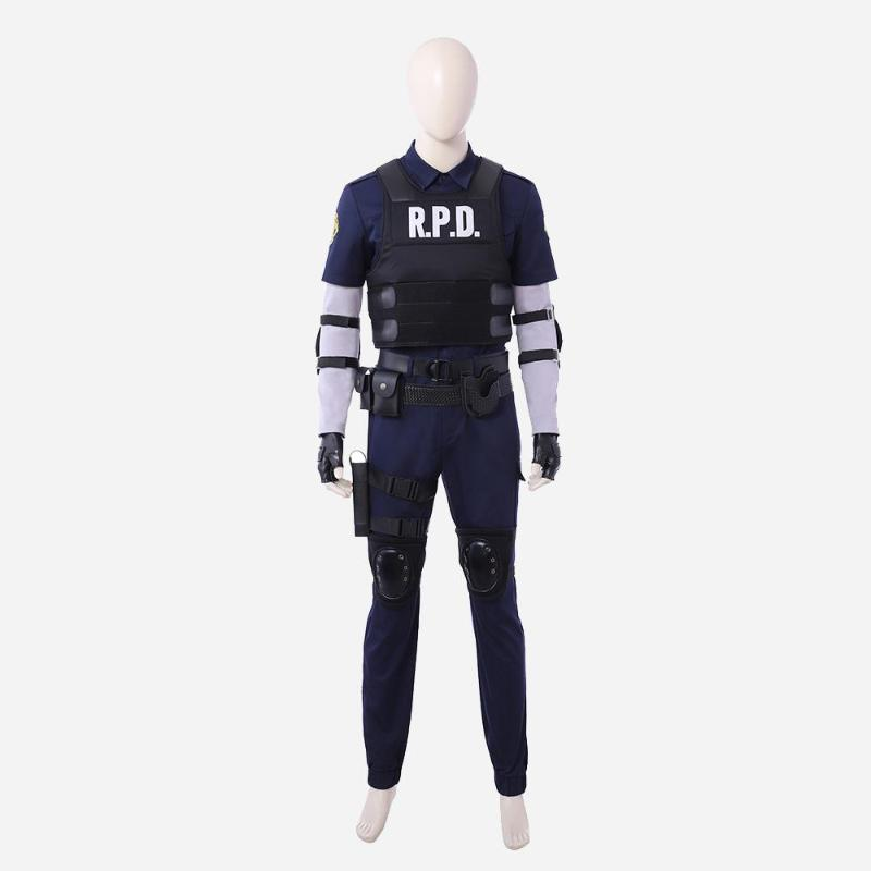 Resident Evil Leon Kennedy cosplay costume