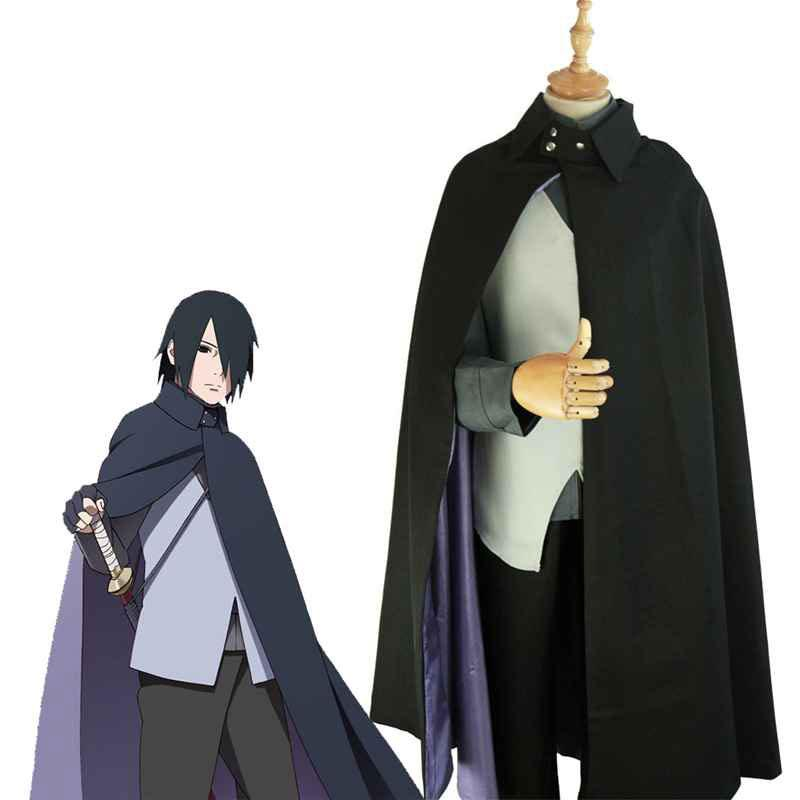 Anime Boruto Naruto Uchiha Sasuke Cosplay Costumes Halloween Party Uniform Suit