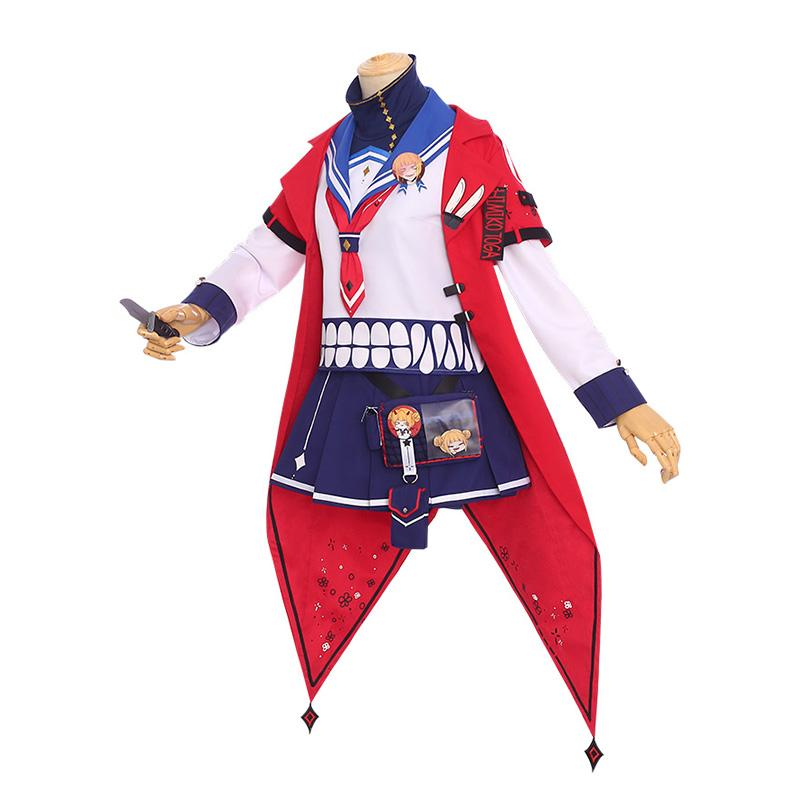Anime My Hero Academia Himiko Toga Casual Clothes Cosplay Costumes
