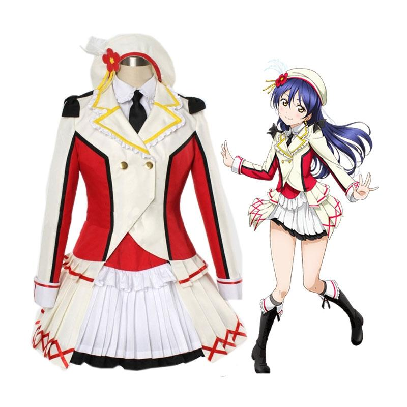 Anime LoveLive! Sonoda Umi OP That is Our Miracle Cosplay Costume
