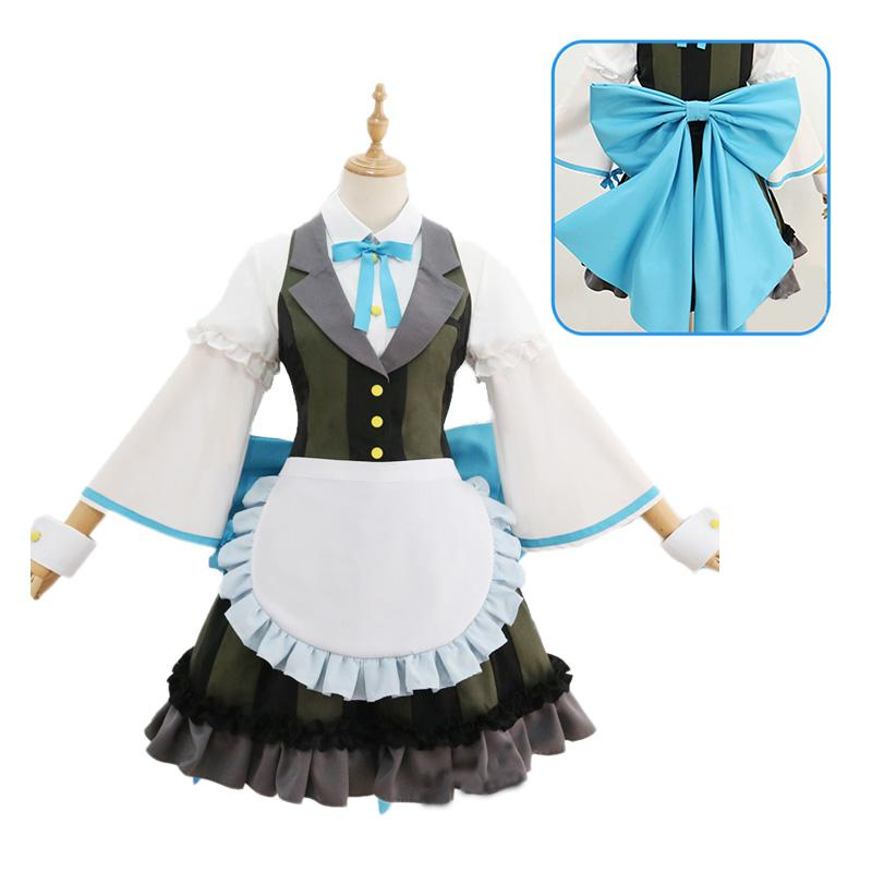 LoveLive!Sunshine!! Watanabe You and Aqours All Members Maid Uniform Cosplay Costume