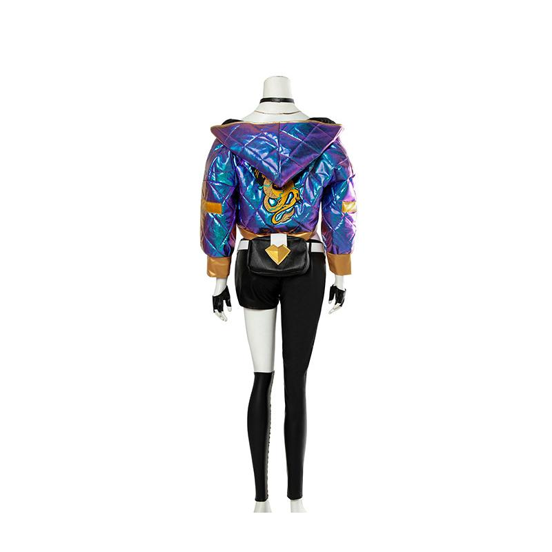 LOL KDA Skin Akali Outfit Fullsets Cosplay Costume